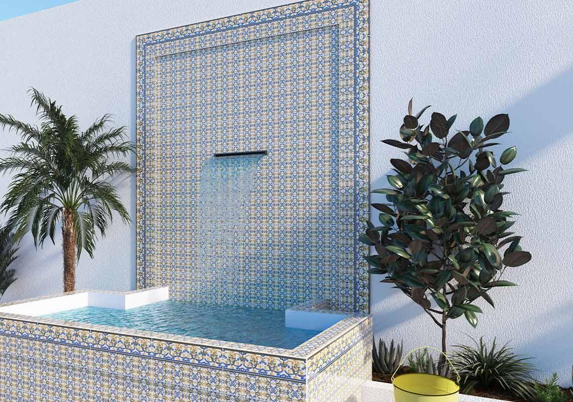 ZAYNA 25x50 - motif arabesque