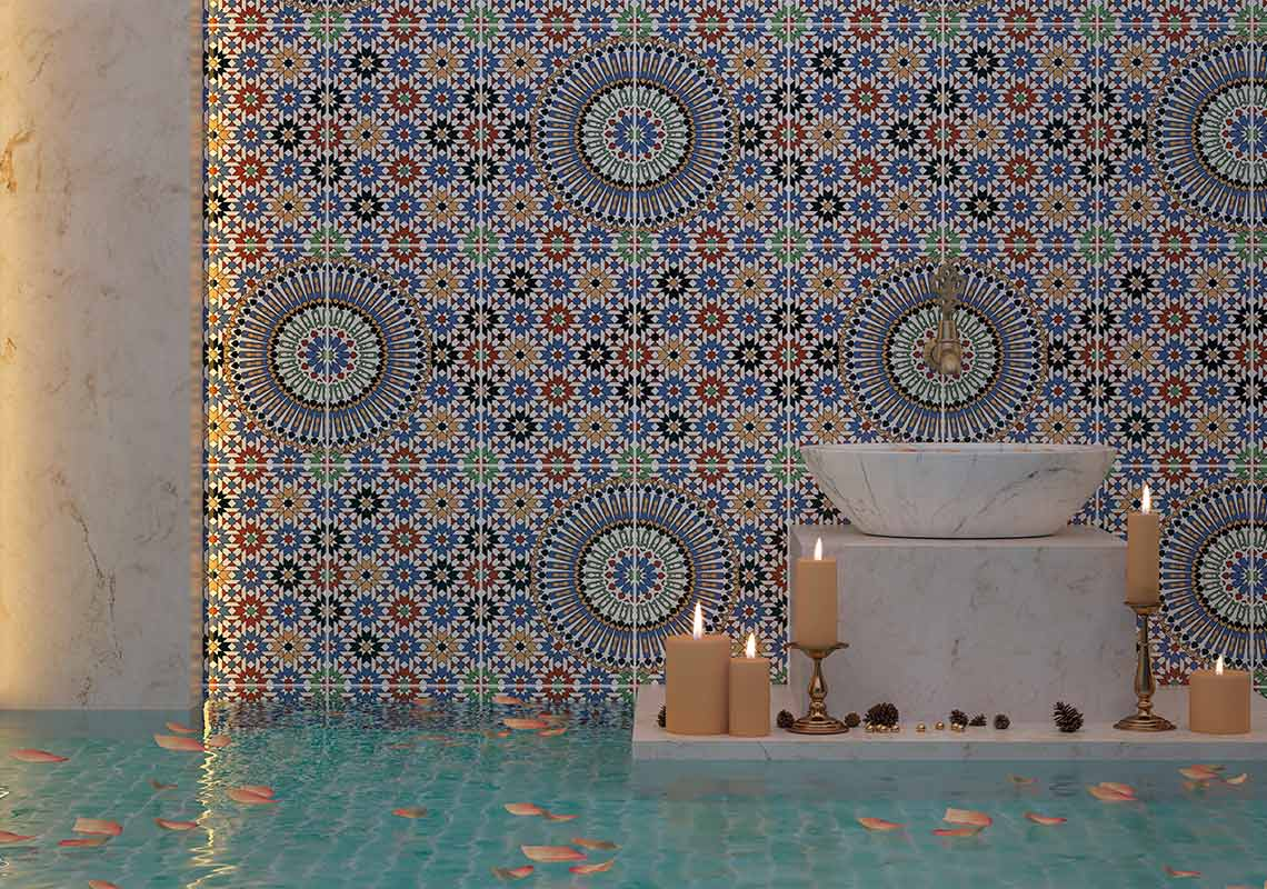 MORESQUE 25x40 - motif arabesque