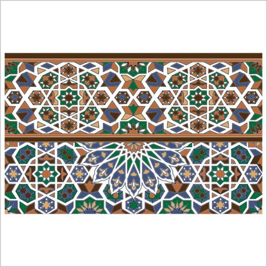 Caporal-vert-bordure-25x40-revetement-mural-essid-ceramique-img-01