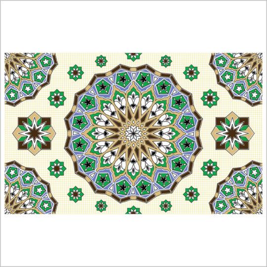 Royal-vert-tapis-25x40-revetement-mural-essid-ceramique-img-01
