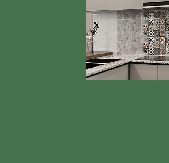Modèle AMBRA 25X40 cuisine céramique céramique tunisie