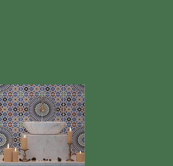 Modèle céramique MORESQUE 25X40